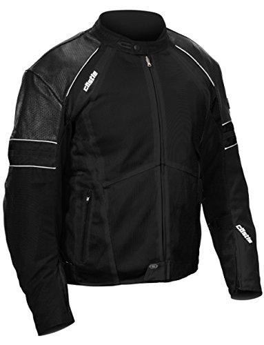 - Castle Contact Motorcycle Jacket - Black - XL