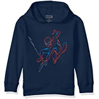 Marvel Boys' Little Spider-Man Pullover Sweatshirt