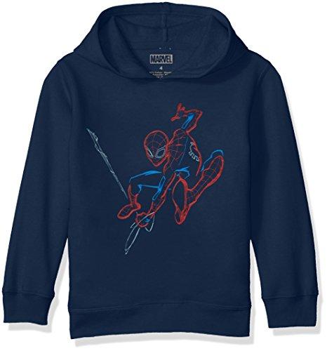 Marvel Little Boys' Spider-Man Pullover Sweatshirt