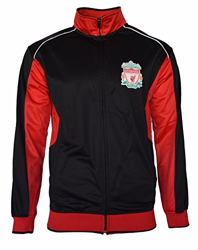 Jacket Track Core (Men's Liverpool FC Soccer Icon Track Jacket (Small) Core Black)