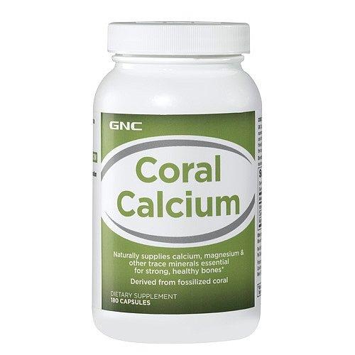 GNC Коралловый кальций 180 Капсулы Здоровье / Здравоохранение