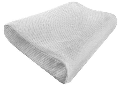 contour memory foam pillow by elite rest best neck pain import it all. Black Bedroom Furniture Sets. Home Design Ideas