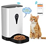 Automatic Pet Feeder for Cats and Dogs 4.5L Food Dispenser with WiFi Remote
