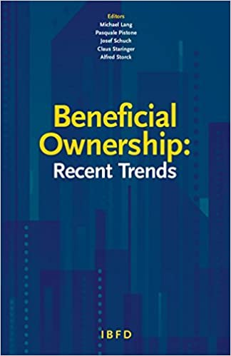 Book Beneficial Ownership: Recent Trends