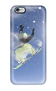 Iphone 6 Plus Case Cover Skin : Premium High Quality Snowboarding Case