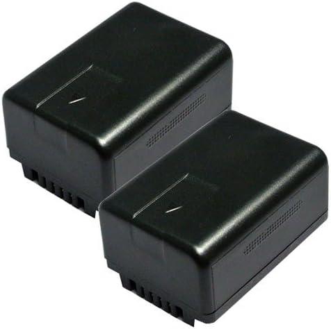 【JC】 2個セット VW-VBT190-K 互換バッテリー (VBT190 / VBT380)
