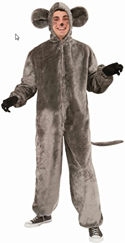 Mascot Costume Adult Mouse (Forum Novelties Mouse Mascot Costume, Gray, Standard)