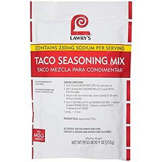 Lawry's Taco Seasoning Mix, 9 oz