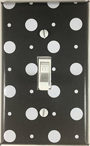 ts Single Decorative Single Toggle Light Switch Plate Cover ()