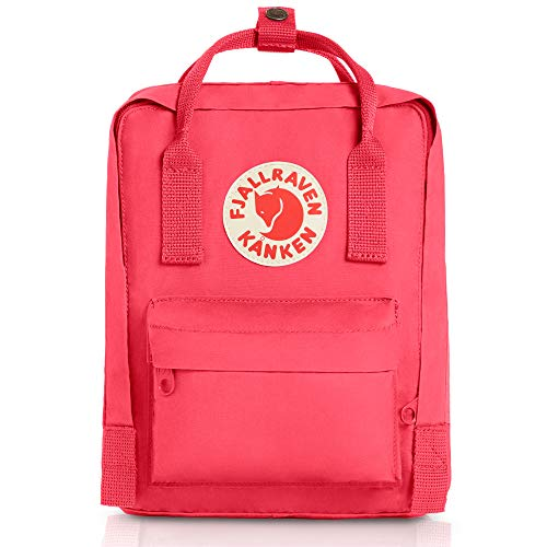 Fjallraven - Kanken Mini Classic Backpack for Everyday, Peach Pink