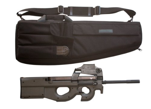 Elite Survival Systems ELSSMGC-B-7 Submachine Fn Ps90 Gun Case, Black, 27