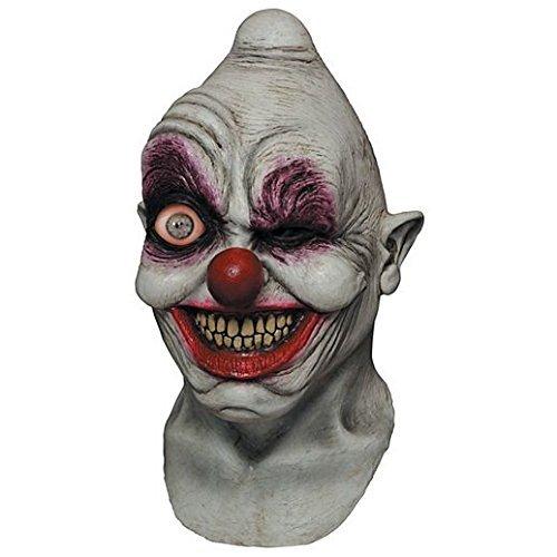 Costume Beautiful Digital Dudz Clown Mask ()