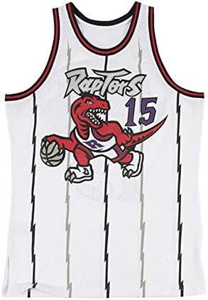 ラプターズ#15カーターバスケットボールジャージベストスポーツトレーニング服通気性