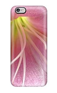 AnnaSanders Premium Protective Hard Case For Iphone 6 Plus- Nice Design - Pink Lily Flower Photo Photograph Desktop Plants Floral Beautiful Botanical Nature Flower