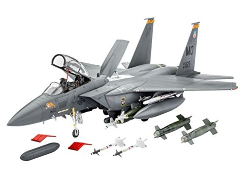 F-15e Eagle (Revell Revell04891 F-15e Strike Eagle And Bombs Model Kit)