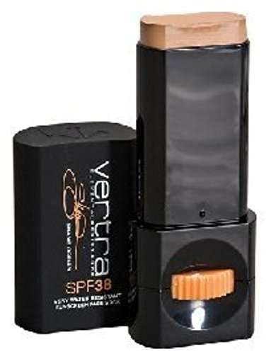 - Vertra SPF 38 Sports Sunscreen Face Stick Kona Gold- Very Water Resistant11g NET WT.39 oz