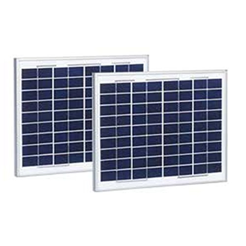 FAS LiftMaster 210W Solar Panel Kit with 2 Ten Watt / 12V Solar Panels & K94-37236 Battery Harness