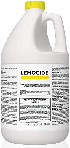 Total Solutions Lemocide | Professional Disinfecting Mildew, Virus & Mold Killer – Cleans & Deodorizes, Lemon Scent (1 Gallon Super Concentrate)