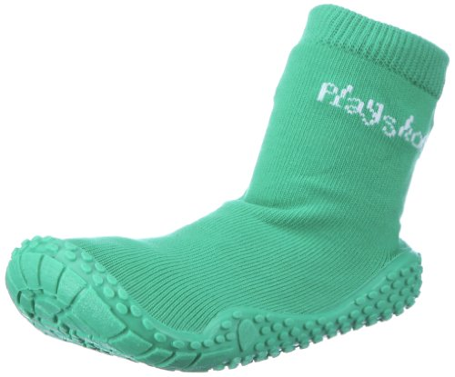 Playshoes Aqua-Socke uni 174801 Jungen Aqua Schuhe Grün (grün 209)