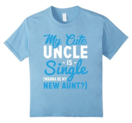 10f0dd440 My cute uncle is single kids shirt the best Amazon price in SaveMoney.es