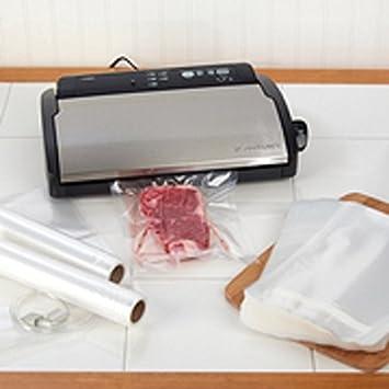 FoodSaver V2866 sellador al vacío incluye 100 QT bolsas de ...