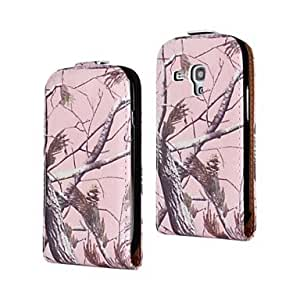 SOL Withered Tree Pattern PU Leather Full Body Case for Samsung Galaxy S3 mini I8190