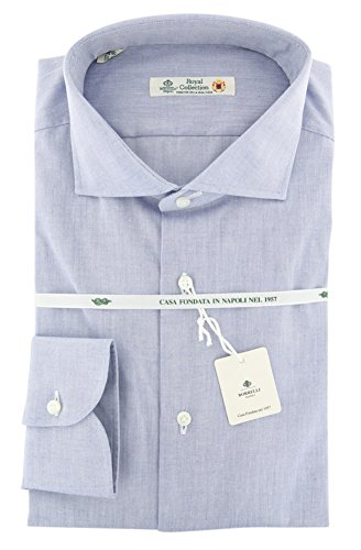 Luigi Borrelli New Blue Extra Slim Shirt