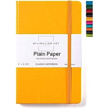 Amazon.com : Minimalism Art, Soft Cover Notebook Journal, A5 ...