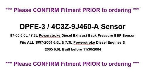 Genuine Ford 4C3Z-9J460-A EGR Valve Position Sensor by Ford