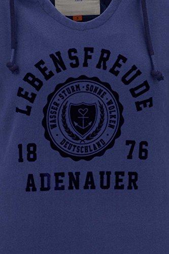 A Azul Capucha Sudadera amp;co Co Oscuro amp; Kapuzenschwester Adenauer Con Twq7SpwY