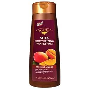 Tree Hut Shea Moisturizing Shower Wash, Tropical Mango, 16-Ounce