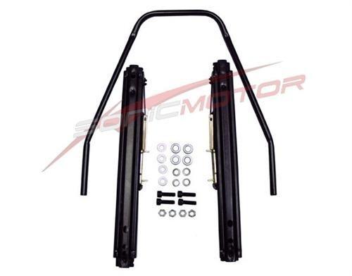 Bride Seat Rail (Sonic Motor Universal Bottom / Side Mount Seat Rail Slider Kit -One Complete Kit)