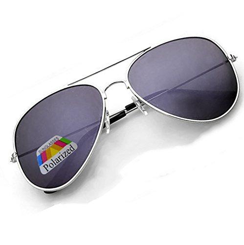 black para 4sold Silver Gafas sol hombre de n7Aaxg