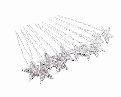 yueton Rhinestone Wedding Headwear Accessories