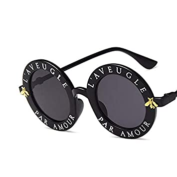 YUHANGH Pequeñas Gafas De Sol De Lujo De Bee Bee Gafas De ...