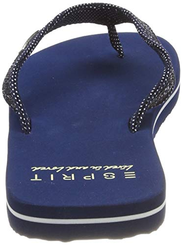 navy Glitter 400 Blu Infradito Donna Esprit Thongs XqRd11