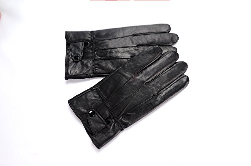 Anccion-Mens-Genuine-Leather-Warm-Lined-Driving-Gloves-Motorcycle-Gloves