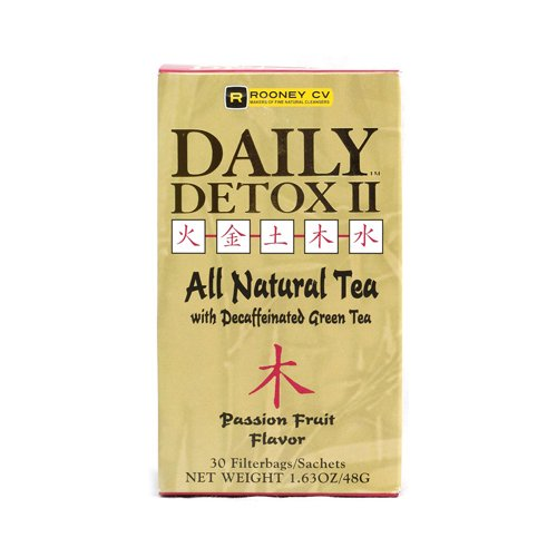 Daily Detox Ii All Natural Tea – Passion Fruit 30/1.63 Ounce (48 g) Packets