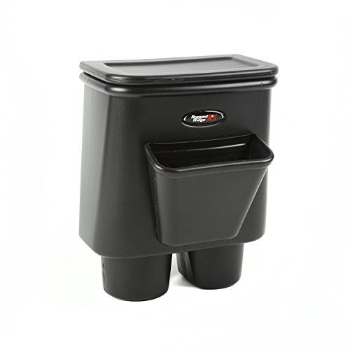 Rugged Ridge 13551.15 Rear Seat Organizer and Center Console Trash Bin (Console Omix Ada)