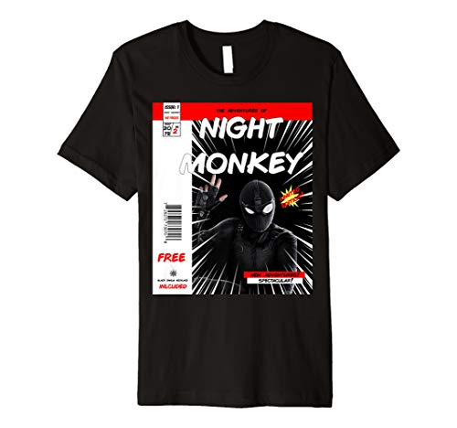 Night Monkey Far From Home Comic Book Limited Edition Shirt