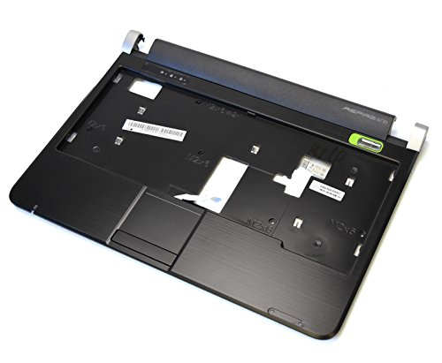 New AP06F000C00 Genuine OEM Acer Aspire One D150 Laptop Notebook Netbook Palmrest Touch Pad Mouse Pad Buttons Plastic Assembly w/Touchpad Click Bar Power LED Clips Flex Ribbon Keyboard Housing