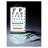 WP000-13-1258 13-1258 13-1258 Cabinet Illuminated Eye-Test Port/Wl Mnt W/ Ilit Eye Chart Mtl Ea From Tech-Med Services, Inc