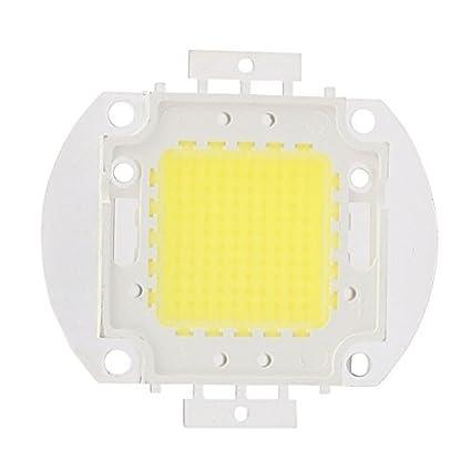 eDealMax DC Beads 30-35V 100W de alta potencia LED SMD chip pura luz blanca