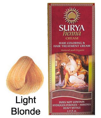 Surya Henna Light Blonde Cream 2.31 Ounces by Surya Brasil