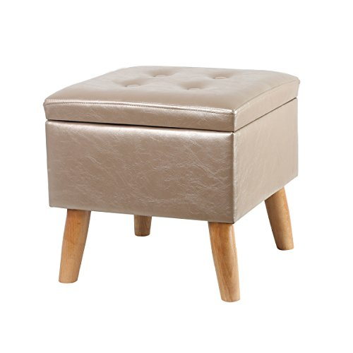 Superieur Eshow Ottoman And Foot Stools Shoe Bench With Storage Storage Bench Pouf Ottoman  Storage Ottoman Leather