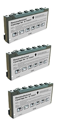 - Compatible Remanufactured 3 Pack T557 T557L T5570 Ink Cartridge for use in Picture-Mate PM500 PM-500 Series Printer.