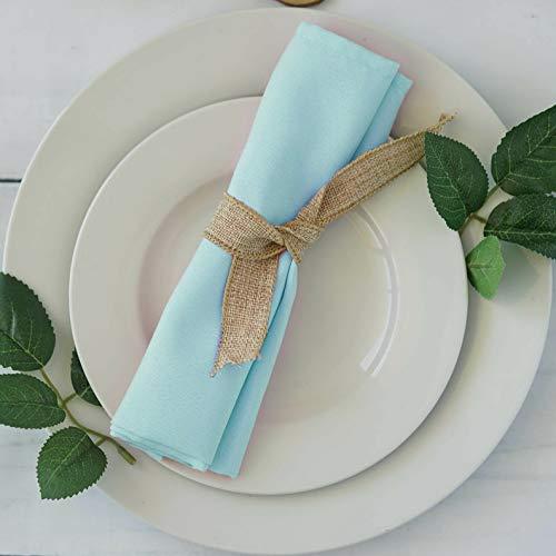 Mikash 20 Polyester Fabric Napkins Wedding Party Dinner Kitchen Table Decorations   Model WDDNGDCRTN - 5066   300 pcs]()