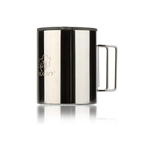 Docooler® Thermal Camping Travelling Mug Cup Stainless Steel Water Cup Double Layer 300ml