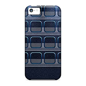 Rgwens Case Cover Protector Specially Made For Iphone 5c Dark Blu Classiczoom