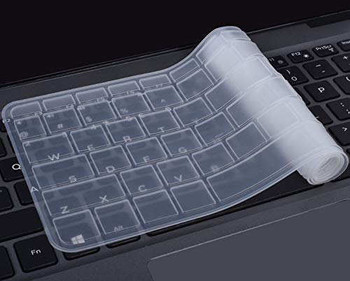 Keyboard Protector Skin for HP Notebook 15.6 Premium Laptop, HP 15-BA009DX Notebook, HP 15-BS015DX 15-BS158CL 15-BS115DX, HP 15-BA009DX 15-BA010nr 15-BA015WM 15-BA079DX 15-BK163DX 15-AY103DX, Clear